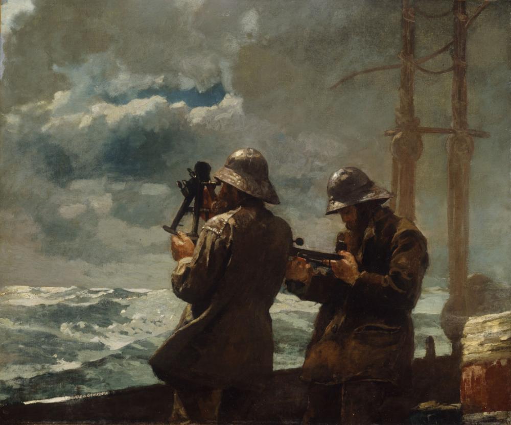 Sekiz Çanları, Winslow Homer, Kanvas Tablo, Winslow Homer, kanvas tablo, canvas print sales