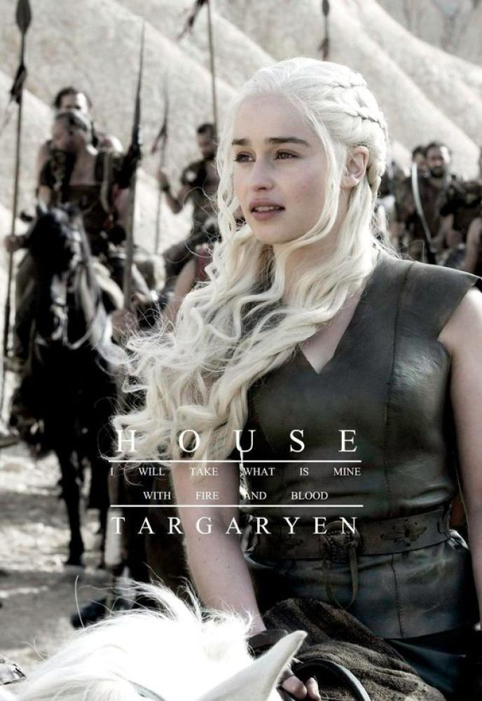 Game Of Thrones Khaleesi-Daenerys Targaryen Poster 8, TV Series, Poster Satış, all posters, kanvas tablo, canvas print sales