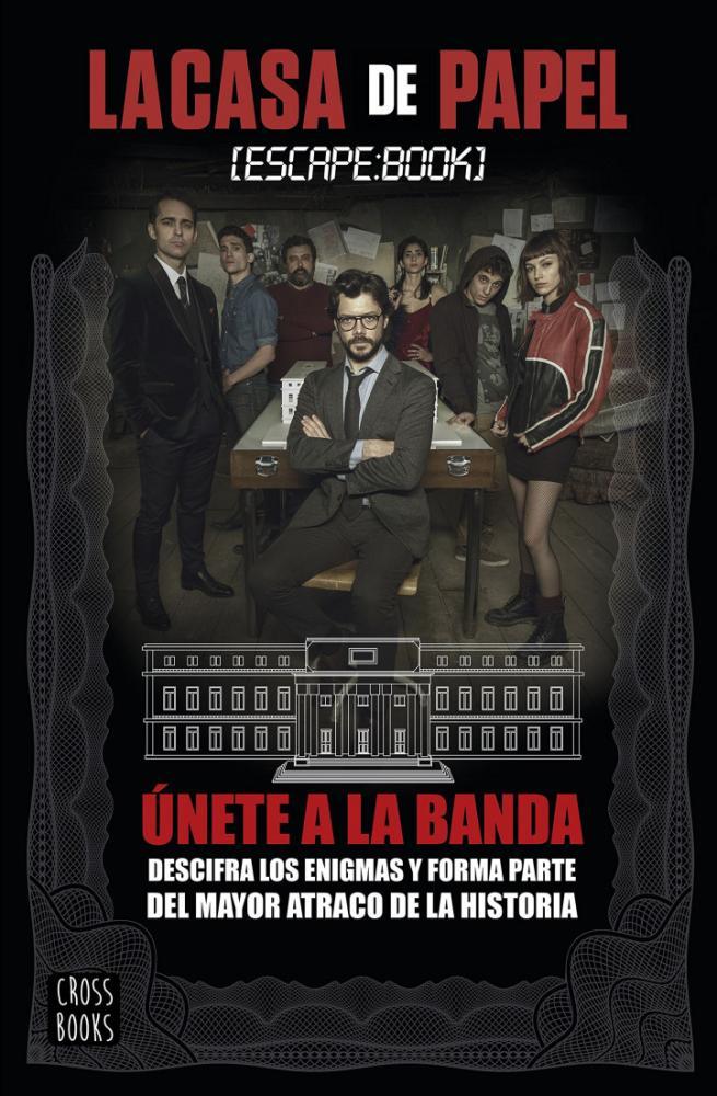 La Casa de Papel  Escape Book Dizi Film Posteri, Dizi, Poster Satış, all posters, kanvas tablo, canvas print sales