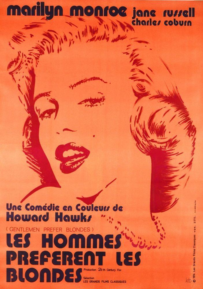 Marilyn Monroe Bazıları Sarışın Sever Poster, Marilyn Monroe, Poster Satış, all posters, kanvas tablo, canvas print sales
