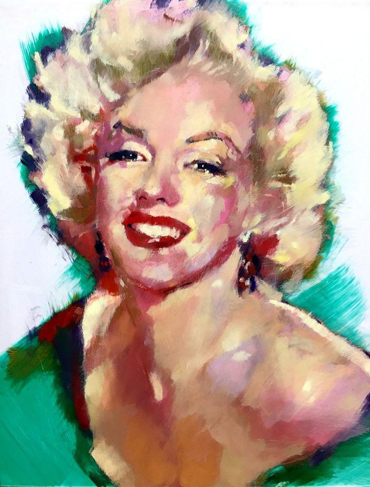 Marilyn Monroe Spreaded Colors, Marilyn Monroe, Poster Satış, all posters, kanvas tablo, canvas print sales