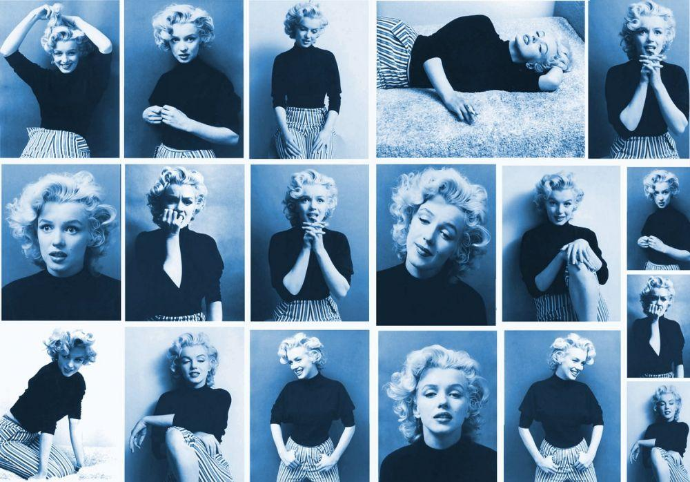 Marilyn Monroe Blue Portraits, Marilyn Monroe, Poster Satış, all posters, kanvas tablo, canvas print sales
