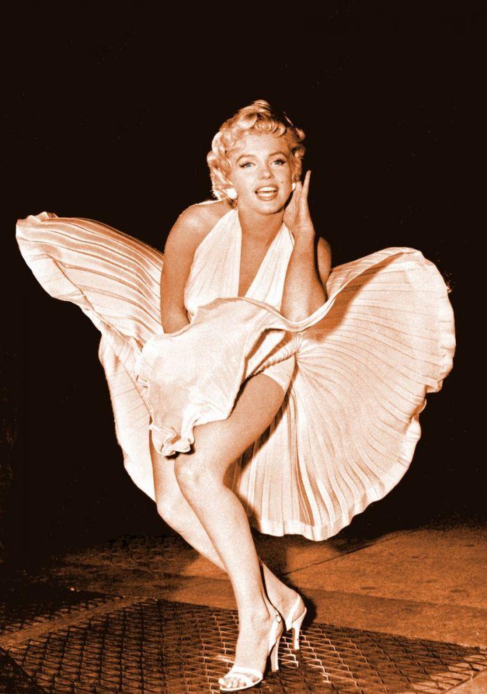 Marilyn Monroe , Flying Skirts, Marilyn Monroe, Poster Satış, all posters, kanvas tablo, canvas print sales