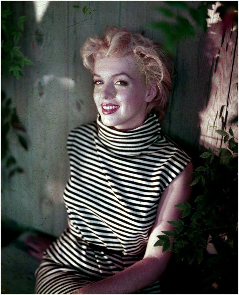 Marilyn Monroe, in Striped Dress 8, Marilyn Monroe, Poster Satış, all posters, kanvas tablo, canvas print sales