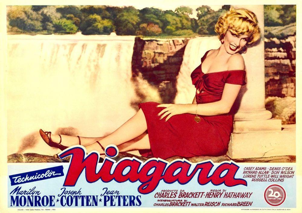 Marilyn Monroe Niagara Movie Poster, Marilyn Monroe, Poster Satış, all posters, kanvas tablo, canvas print sales