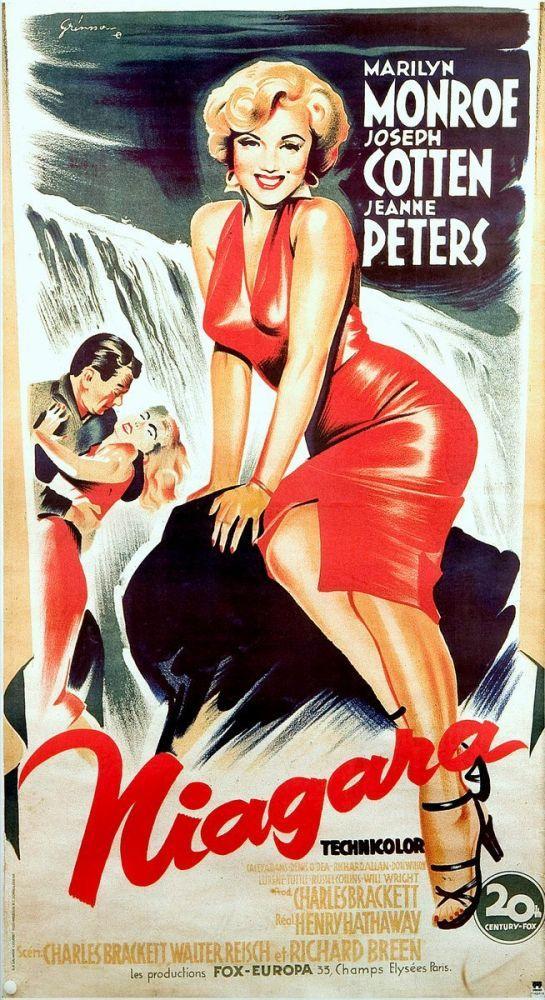 Marilyn Monroe Niagara Movie Poster 2, Marilyn Monroe, Poster Satış, all posters, kanvas tablo, canvas print sales