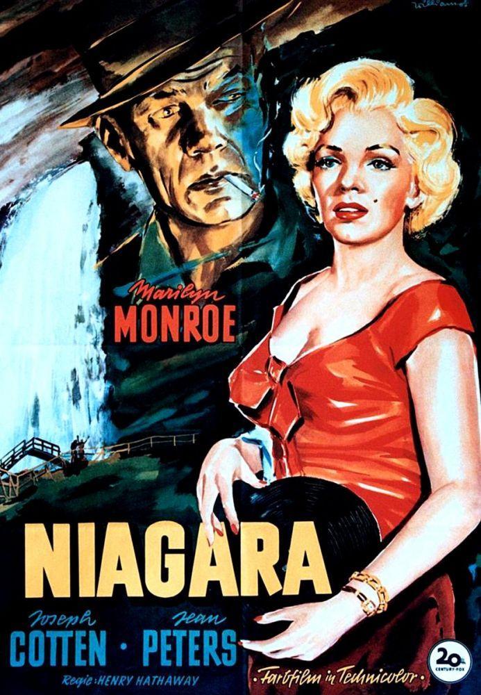 Marilyn Monroe Niagara Movie Poster 3, Marilyn Monroe, Poster Satış, all posters, kanvas tablo, canvas print sales