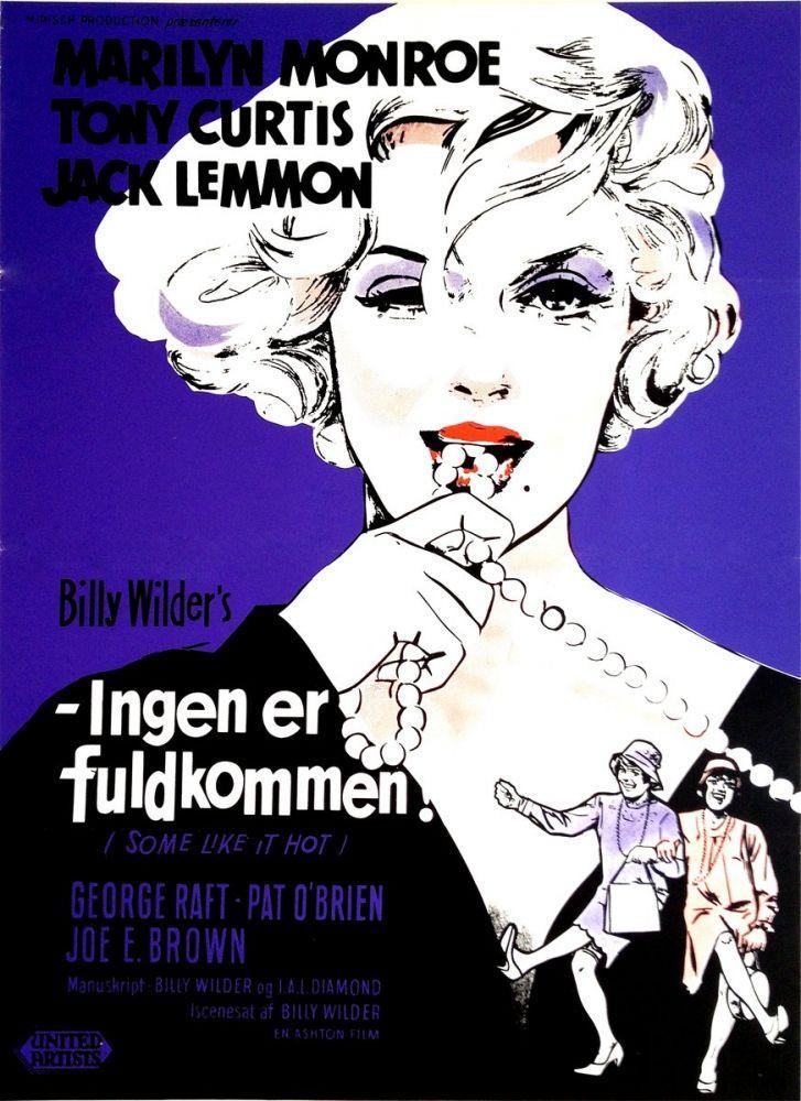 Marilyn Monroe  Hiçkimse Mükemmel Değildir Film Posteri, Kanvas Tablo, Marilyn Monroe, Poster Satış, all posters, kanvas tablo, canvas print sales