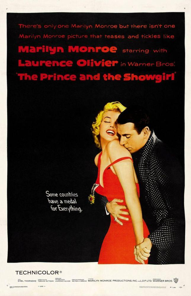 Marilyn Monroe Prince And The Showgirl Movie Poster 2, Marilyn Monroe, Poster Satış, all posters, kanvas tablo, canvas print sales