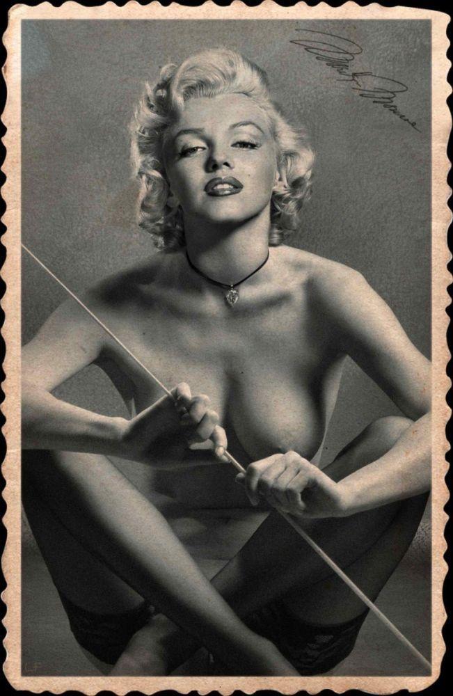 marilyn monroe naked pussey