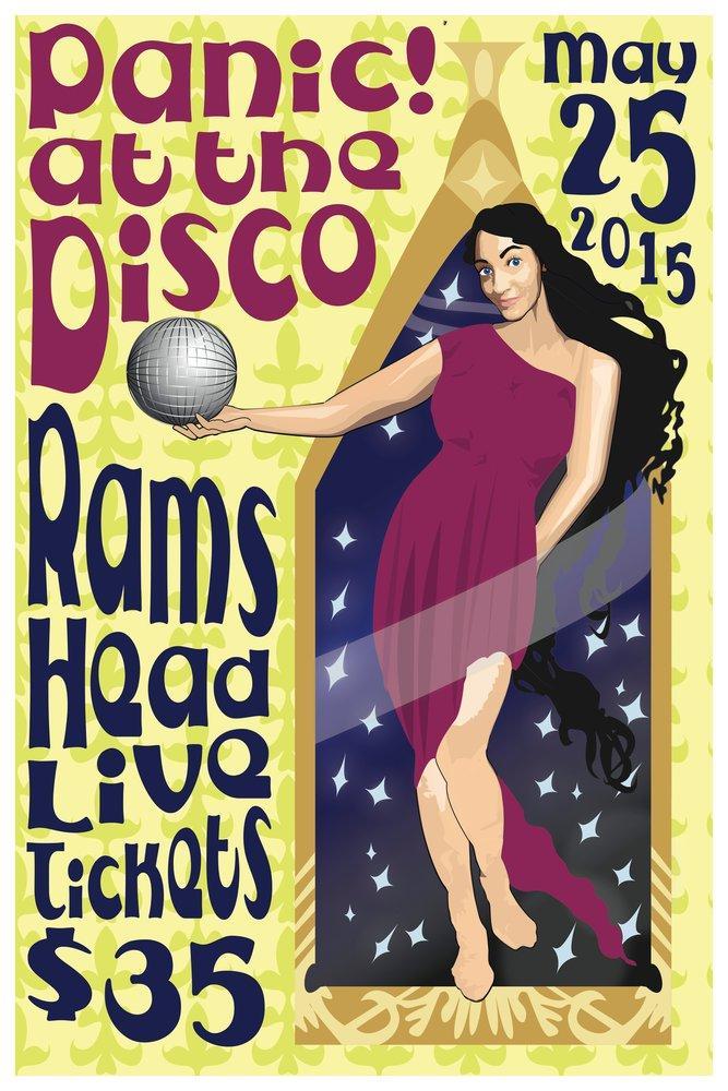 Panic at the disco poster, Famous, Poster Satış, all posters, kanvas tablo, canvas print sales