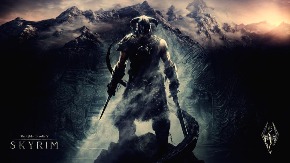 The Elder Scrolls V Skyrim Game Poster, Game, Poster Satış, all posters, kanvas tablo, canvas print sales