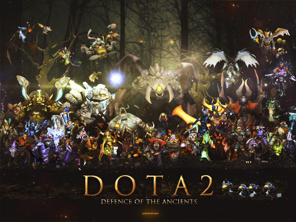 DOTA2 Game Poster, Game, Poster Satış, all posters, kanvas tablo, canvas print sales