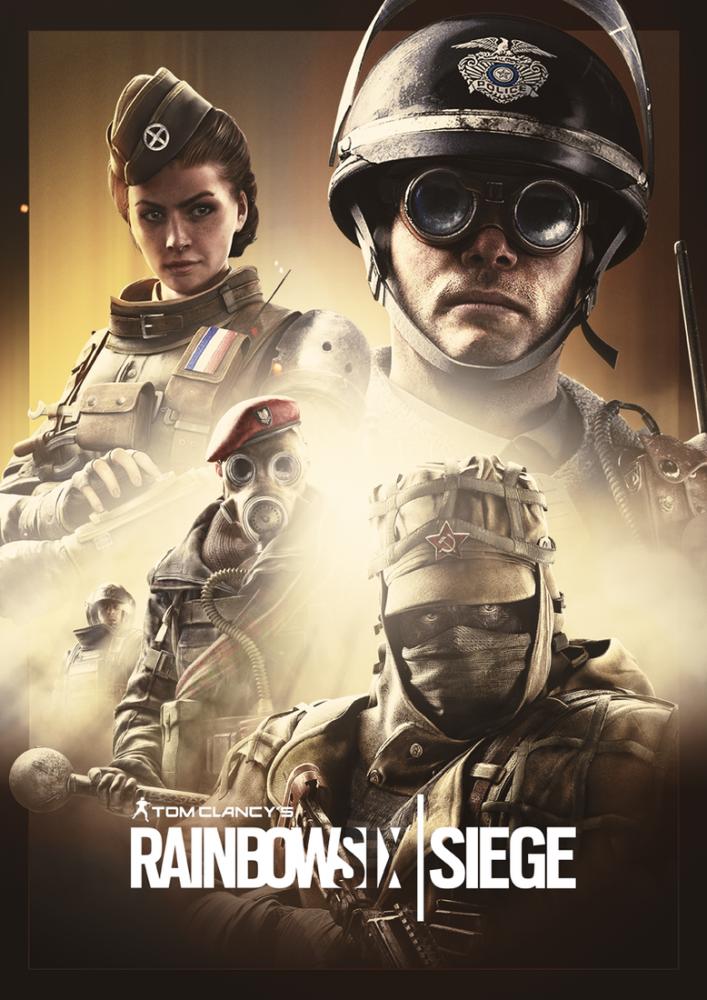 Rainbow Six Siege Game Poster, Game, Poster Satış, all posters, kanvas tablo, canvas print sales