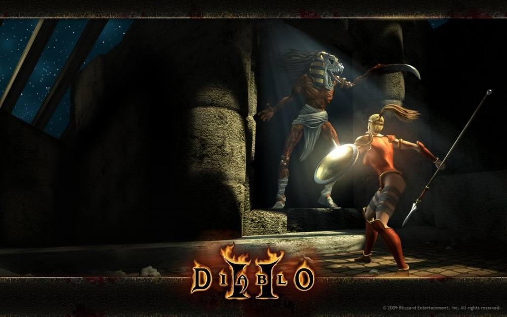 Diablo 2 Game Poster, Game, Poster Satış, all posters, kanvas tablo, canvas print sales