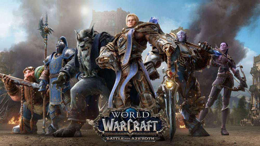 World of Warcraft Battle For Azeroth Oyun Posteri, Oyun, Poster Satış, all posters, kanvas tablo, canvas print sales
