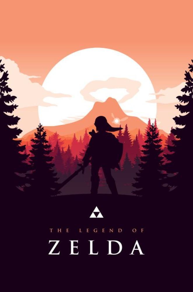 Legend of Zelda Oyun Posteri, Oyun, Poster Satış, all posters, kanvas tablo, canvas print sales
