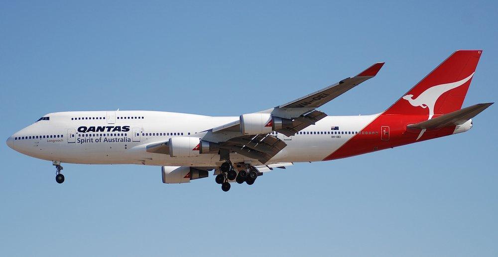 Qantas Boeing 747 2. Poster, Aircraft, Poster Satış, all posters, kanvas tablo, canvas print sales