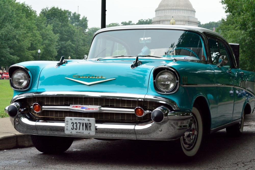 Green Chevrolet Car Poster, Cars, Poster Satış, all posters, kanvas tablo, canvas print sales