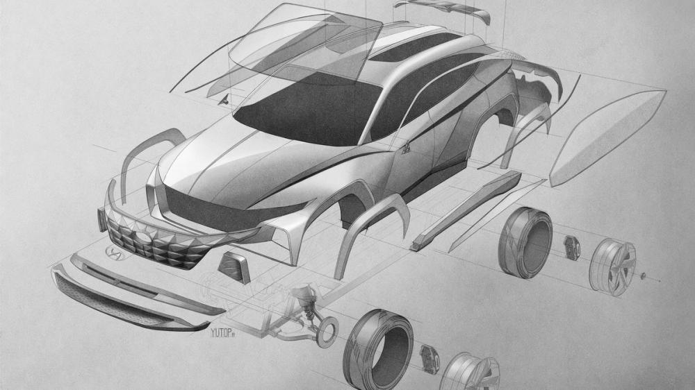A Car Sketch, Poster, Cars, Poster Satış, all posters