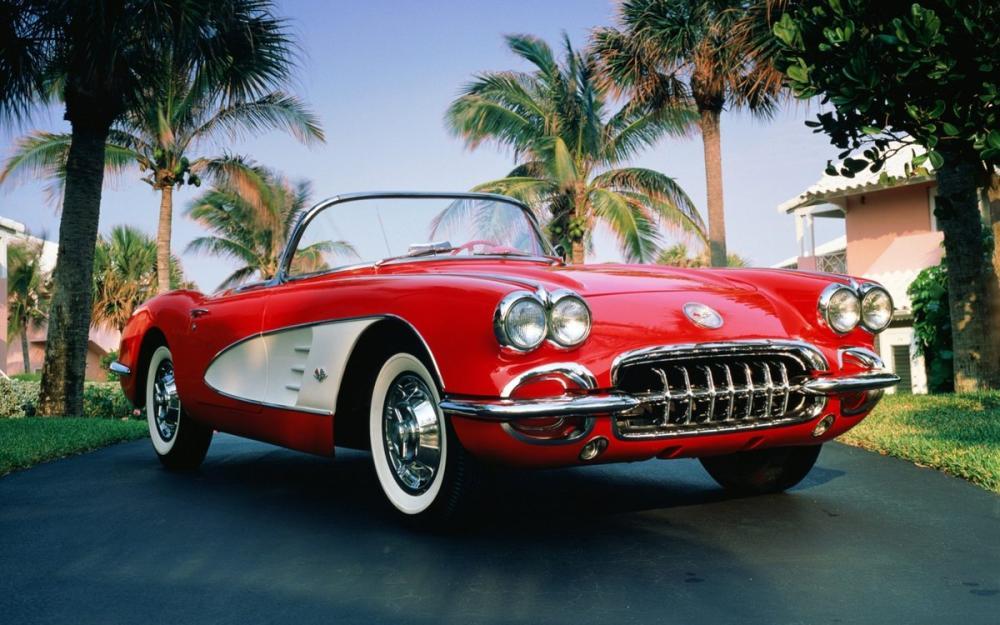 1960 Chevrolet Corvette Car Poster, Cars, Poster Satış, all posters, kanvas tablo, canvas print sales