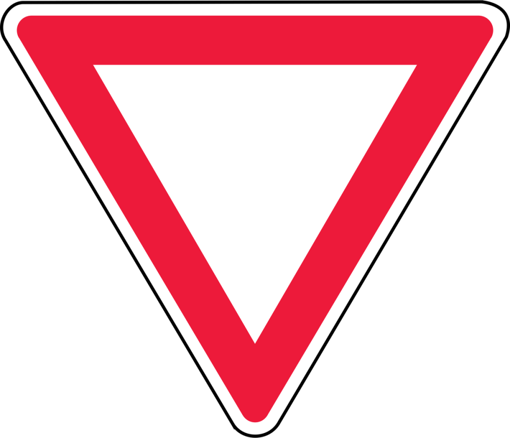 Give Way Traffic Road Sign Poster, Cars, Poster Satış, all posters