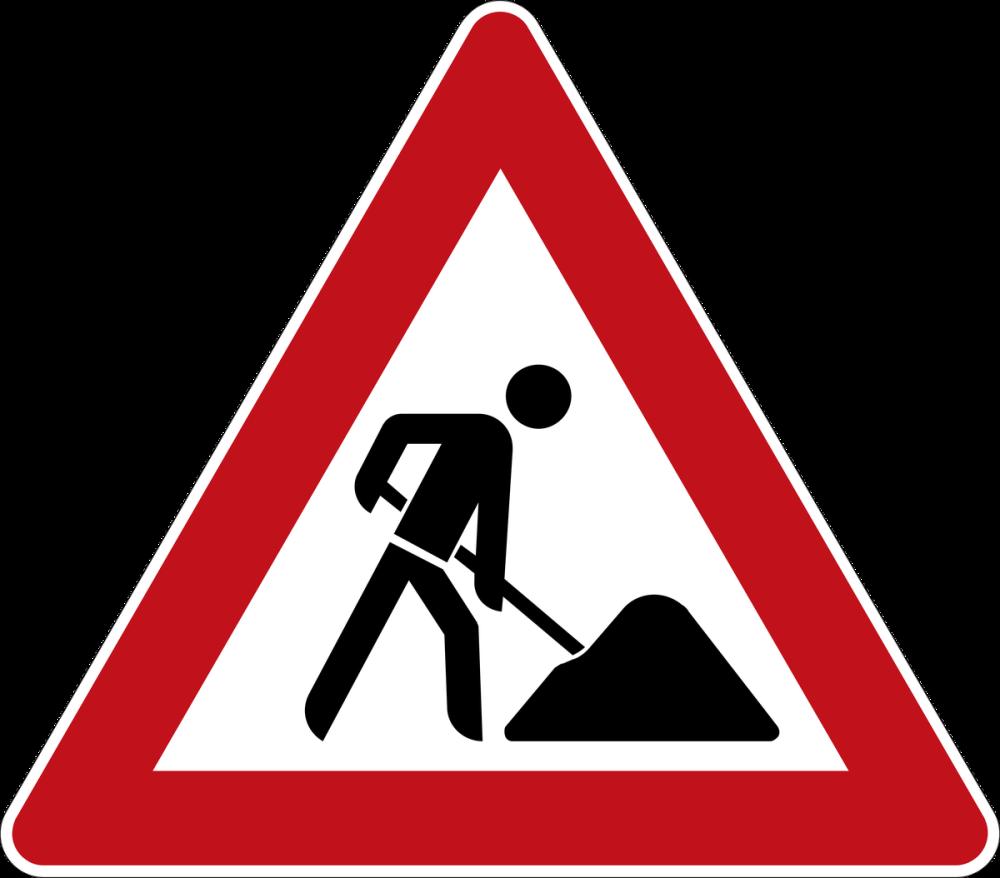Yol Bakım Trafik Yol İşareti Posteri, Araba, Poster Satış, all posters