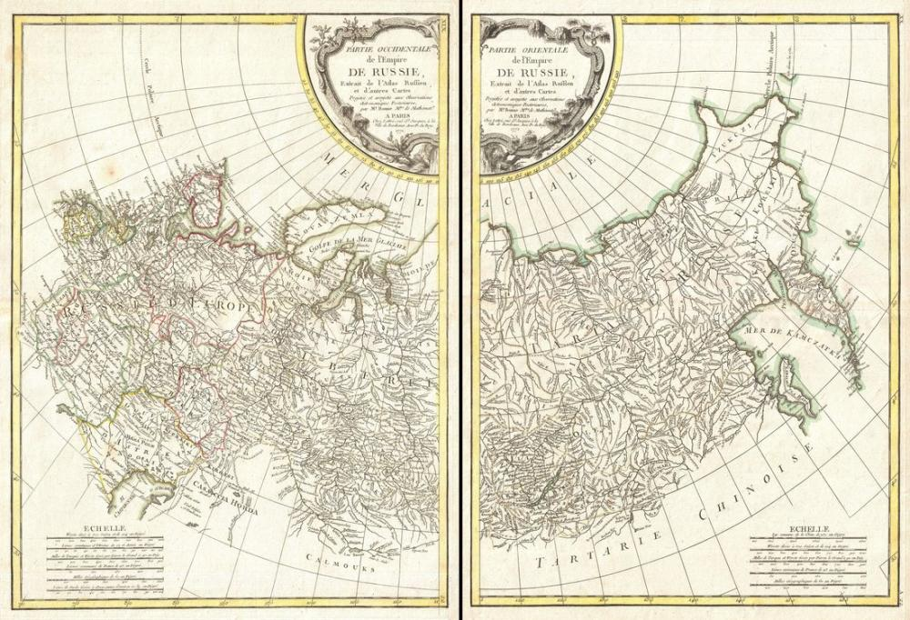 Russia Geographicus Map Poster, Map Posters, Poster Satış, all posters, kanvas tablo, canvas print sales