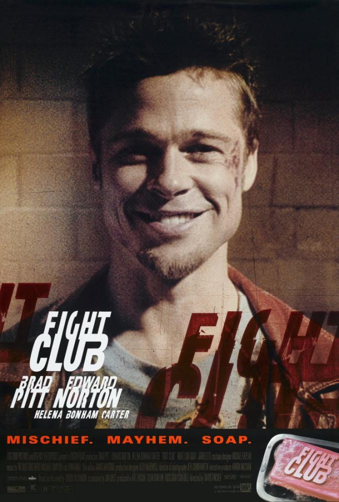 Fight Club Movie Film Poster, Movie Poster, Poster Satış, all posters, kanvas tablo, canvas print sales