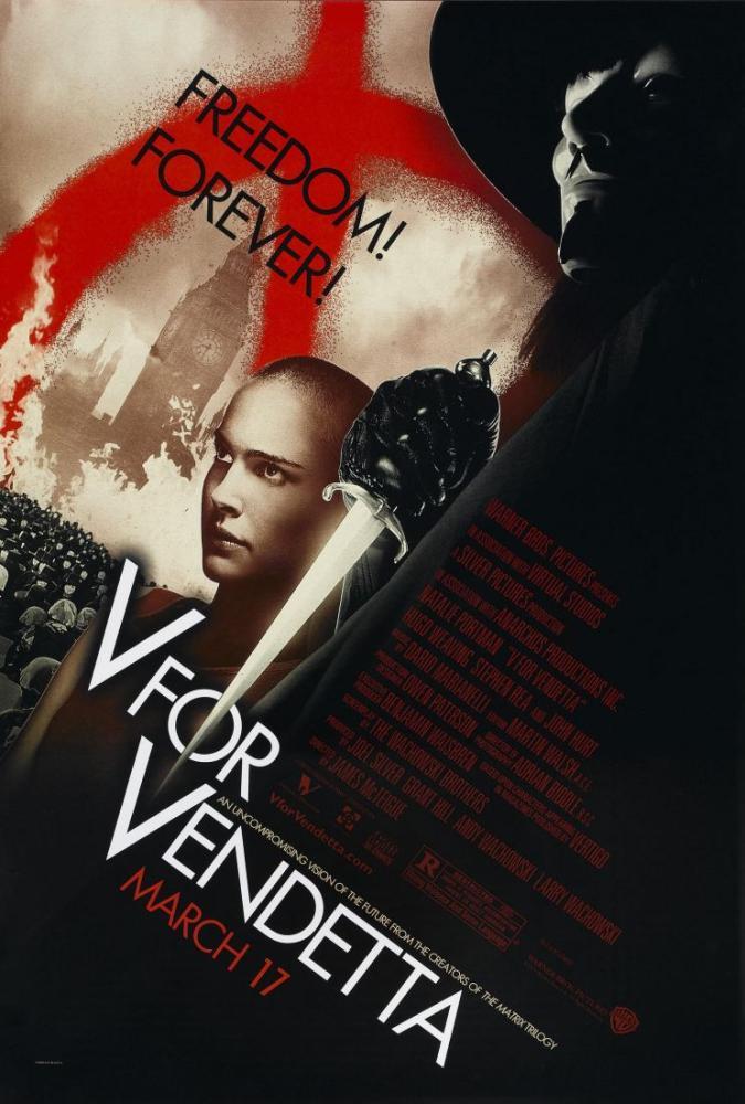 V for Vendetta Poster, Film Posteri, Poster Satış, all posters, kanvas tablo, canvas print sales