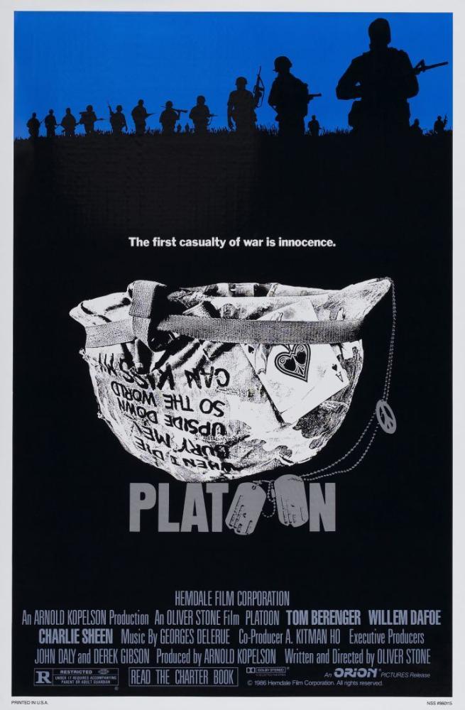 Platoon Movie Poster, Movie Poster, Poster Satış, all posters, kanvas tablo, canvas print sales