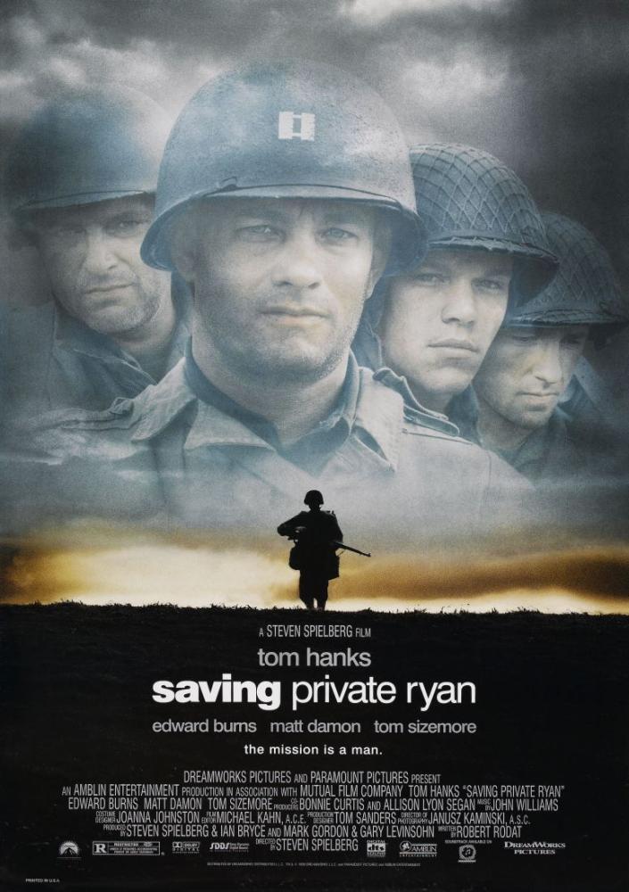 Saving Private Ryan Poster Sales, Movie Poster, Poster Satış, all posters, kanvas tablo, canvas print sales