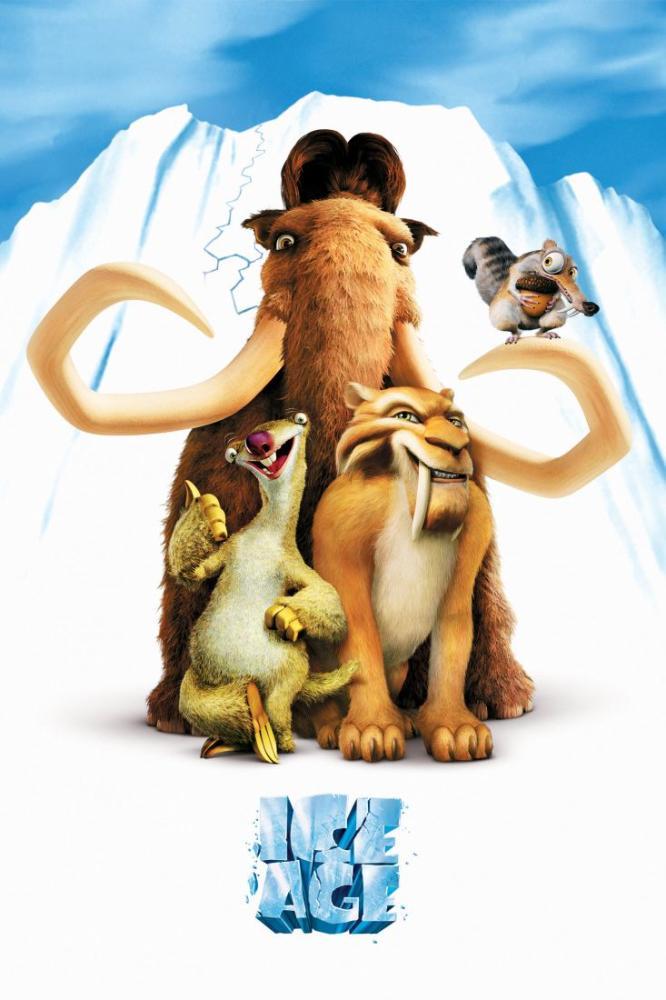 Ice Age Movie Poster 4, Movie Poster, Poster Satış, all posters, kanvas tablo, canvas print sales