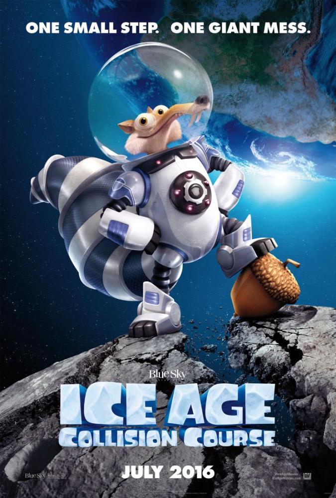 Ice Age, Collision Course Movie Poster, Movie Poster, Poster Satış, all posters, kanvas tablo, canvas print sales