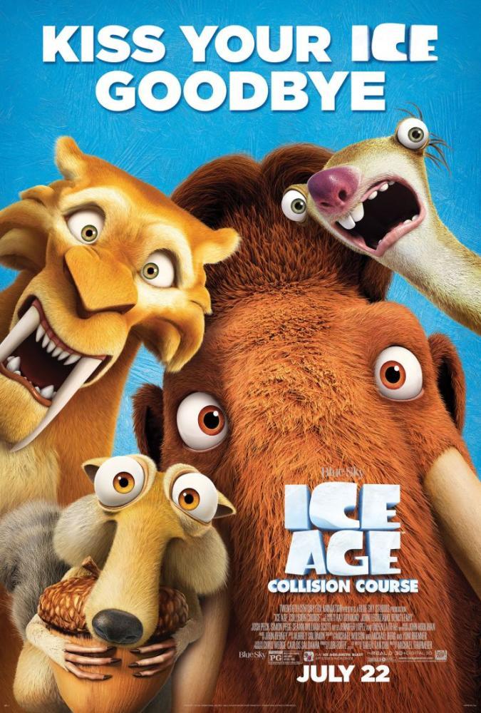 Ice Age, Kiss Your Ice Goodbye Movie Poster, Movie Poster, Poster Satış, all posters, kanvas tablo, canvas print sales