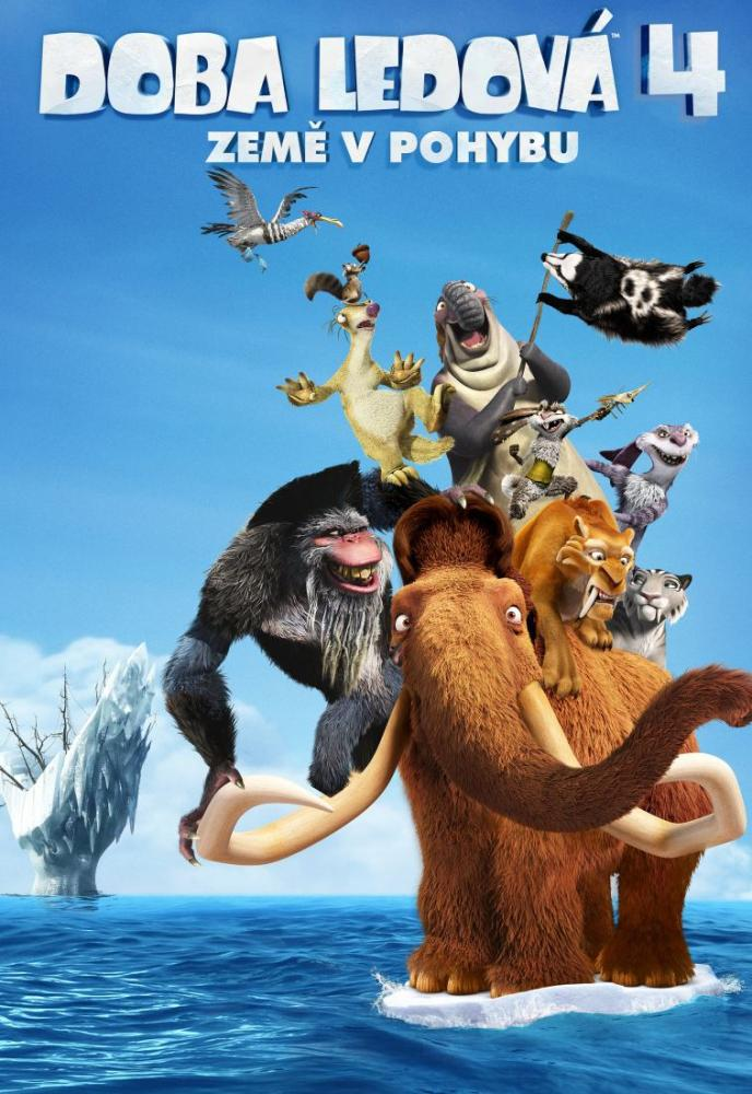 Ice Age Continental Drift Movie Poster, Movie Poster, Poster Satış, all posters, kanvas tablo, canvas print sales