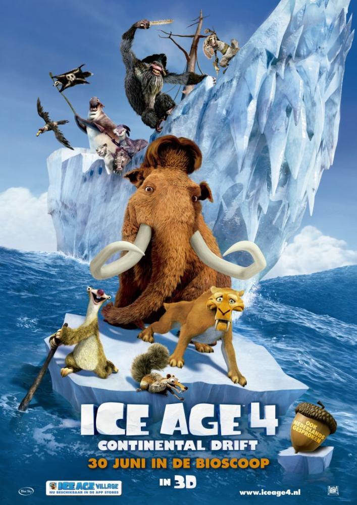 Ice Age 4 Continental Drift Movie Poster 3, Movie Poster, Poster Satış, all posters, kanvas tablo, canvas print sales