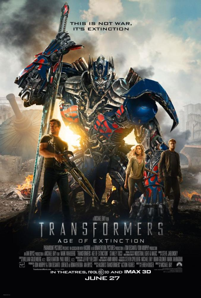 Transformers Age of Extinction Movie Poster 2, Movie Poster, Poster Satış, all posters, kanvas tablo, canvas print sales