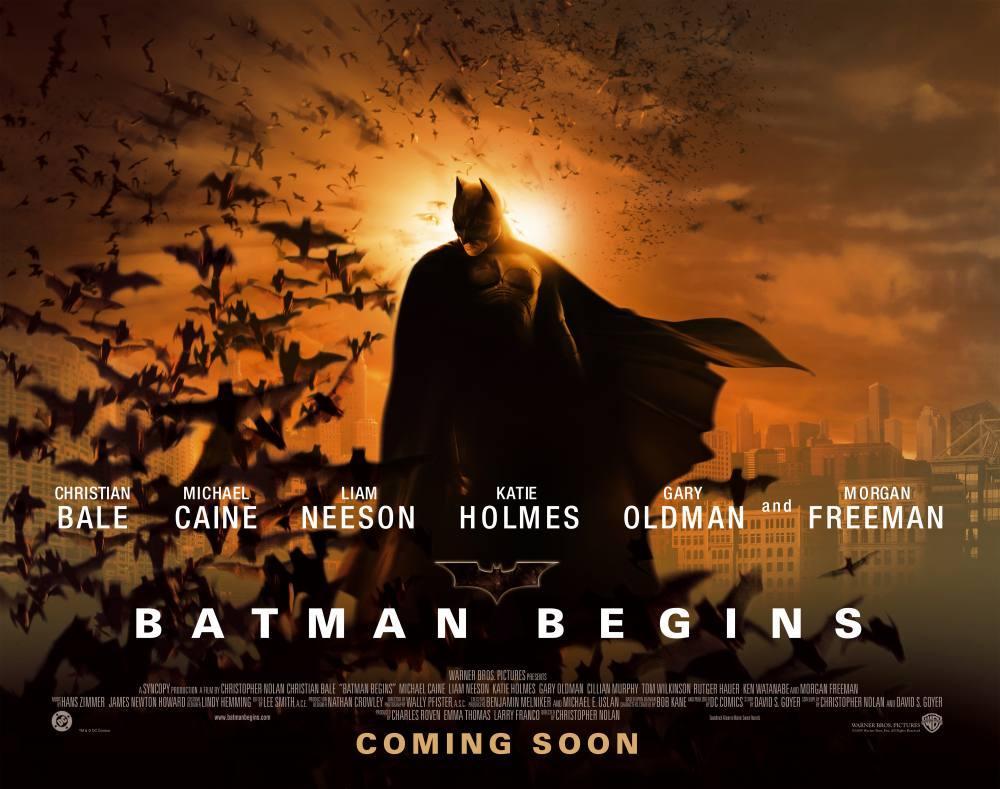 Batman Begins Movie Poster, Movie Poster, Poster Satış, all posters, kanvas tablo, canvas print sales