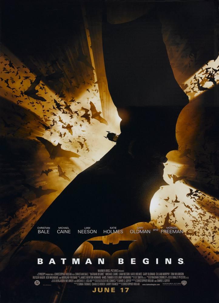 Batman Begins Movie Poster 3, Movie Poster, Poster Satış, all posters, kanvas tablo, canvas print sales