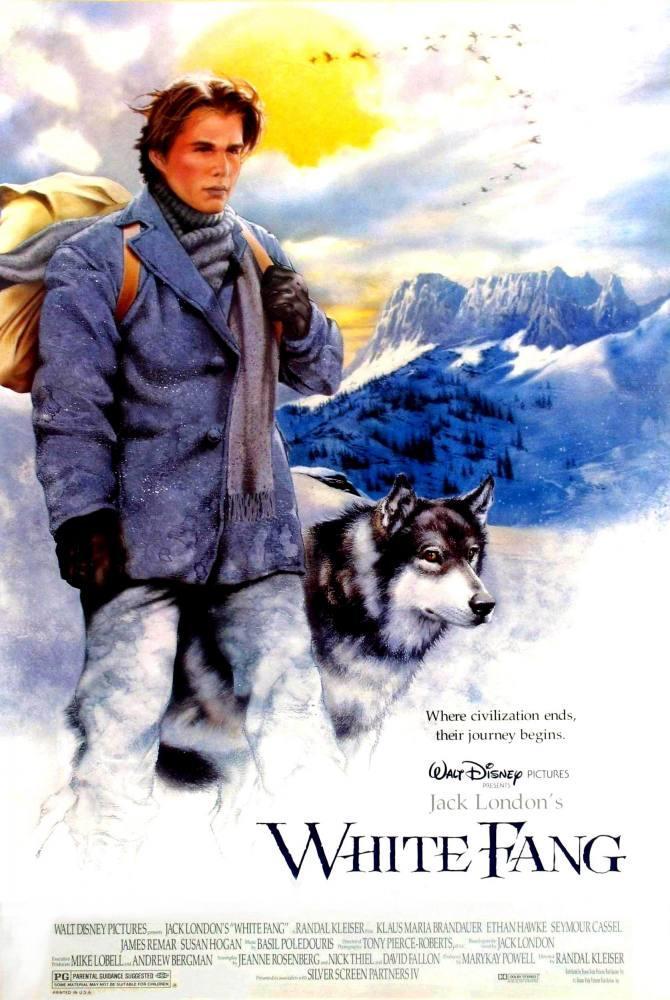 Jack London  White Fang Movie Poster 2, Movie Poster, Poster Satış, all posters, kanvas tablo, canvas print sales
