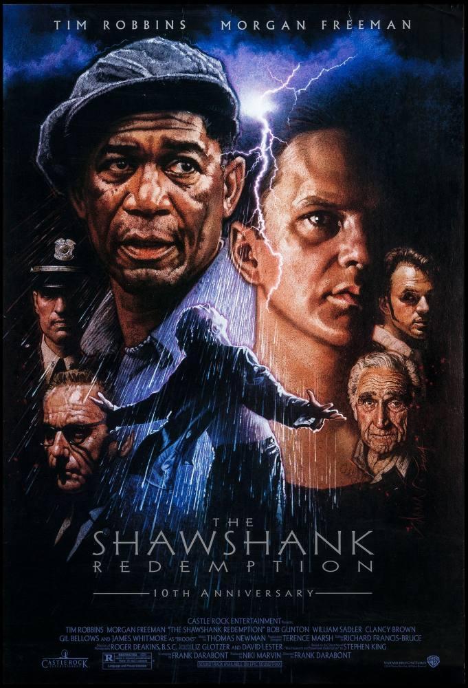 Shawshank Redemption Movie Posters, Movie Poster, Poster Satış, all posters, kanvas tablo, canvas print sales