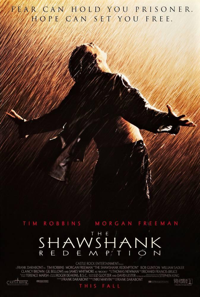 Shawshank Redemption Movie Poster 2, Movie Poster, Poster Satış, all posters, kanvas tablo, canvas print sales