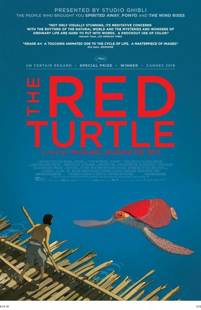 Red Turtle Movie Poster, Movie Poster, Poster Satış, all posters, kanvas tablo, canvas print sales