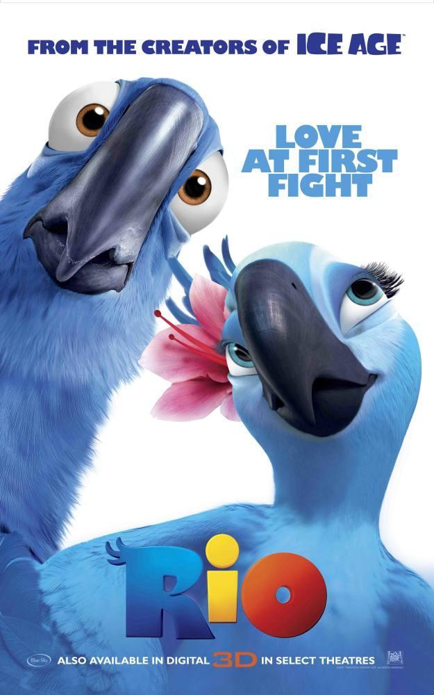 Rio, Papağanlar Film Posteri, Film Posteri, Poster Satış, all posters, kanvas tablo, canvas print sales