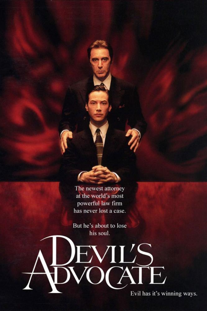 The Devil's Advocate Movie Poster, Movie Poster, Poster Satış, all posters, kanvas tablo, canvas print sales