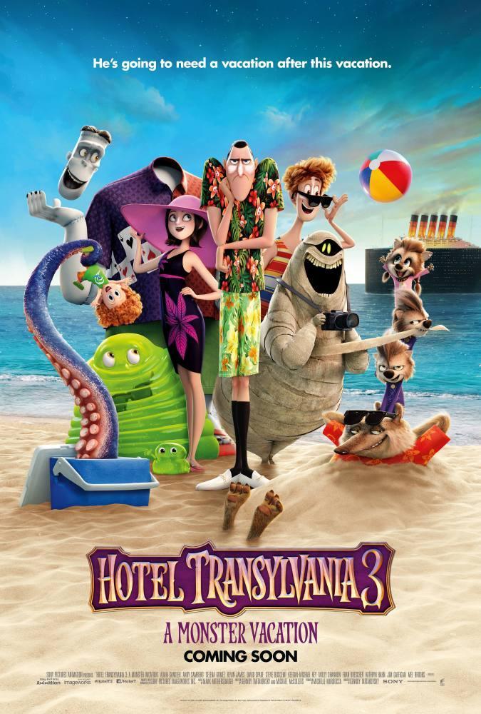 Hotel Transylvania 3 Cartoon Movie Poster, Movie Poster, Poster Satış, all posters, kanvas tablo, canvas print sales