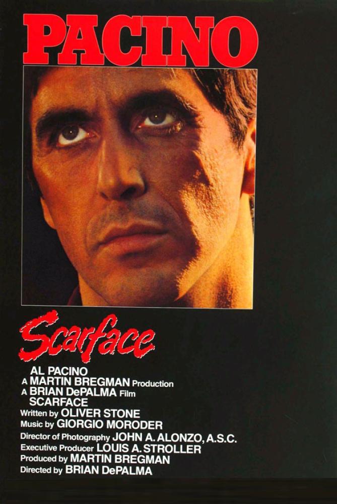 Scarface Movie Poster, Movie Poster, Poster Satış, all posters, kanvas tablo, canvas print sales