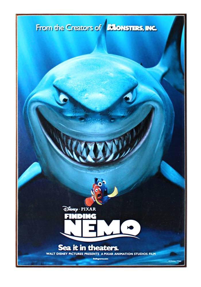 Finding Nemo Cartoon Movie Poster 2, Movie Poster, Poster Satış, all posters, kanvas tablo, canvas print sales