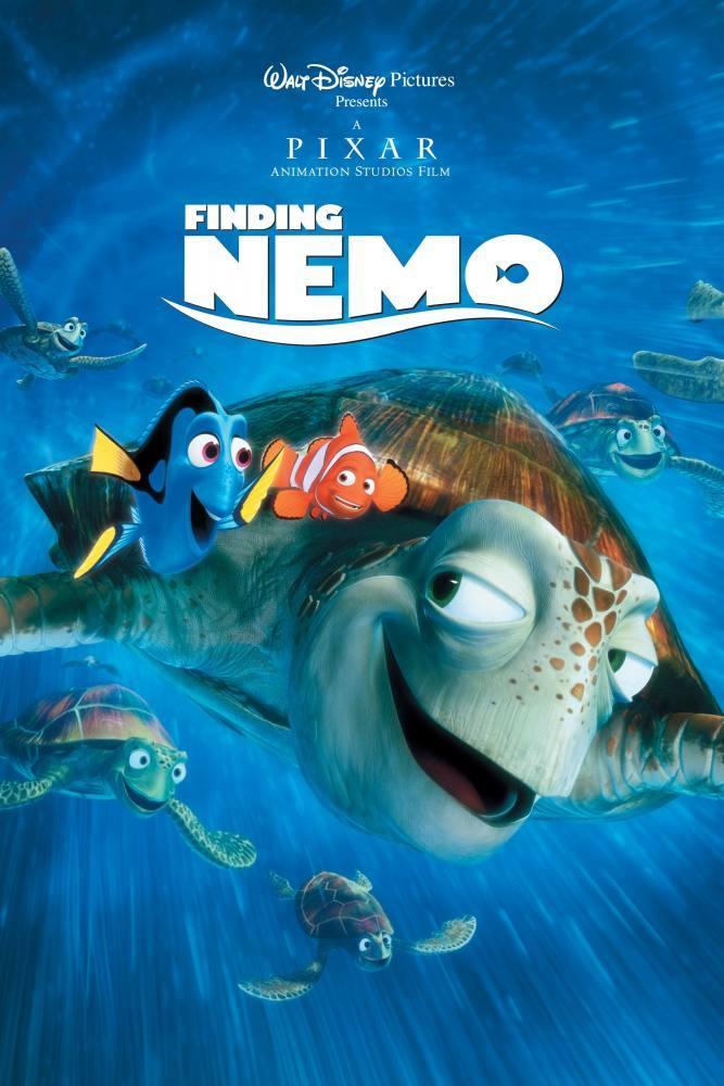 Finding Nemo Cartoon Movie Poster 5, Movie Poster, Poster Satış, all posters, kanvas tablo, canvas print sales